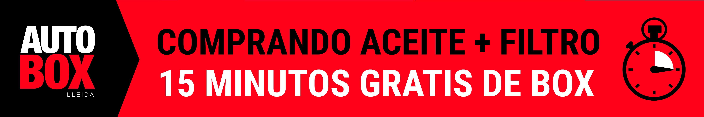 OFERTA ACEITE + FILTRE DE ACEITE