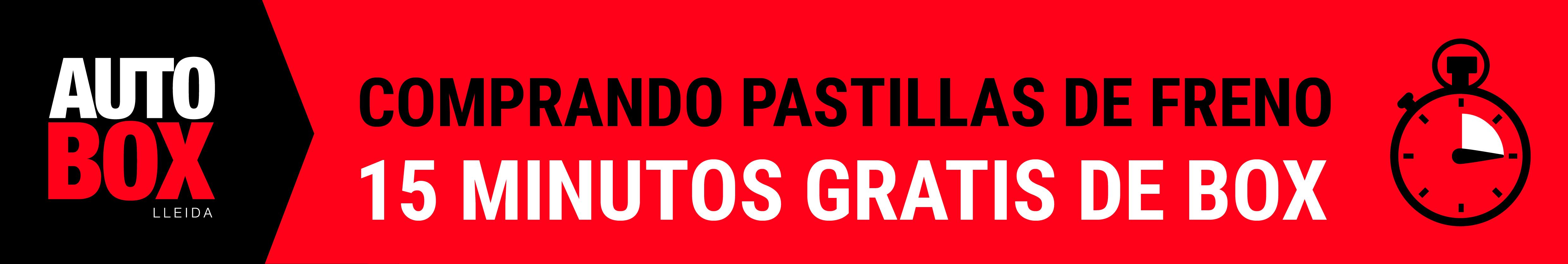 OFERTA PASTILLAS DE FRENO